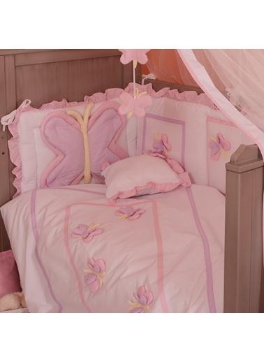Butterfly Uyku Setı 8 Parça (80X140)-Aybibaby